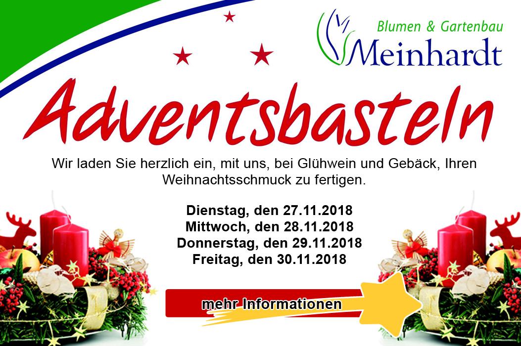 Blumenmeinhardt.de | adventsbasteln Start